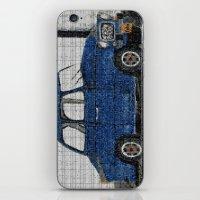 cuba iPhone & iPod Skins featuring Cuba Car by Sartoris ART