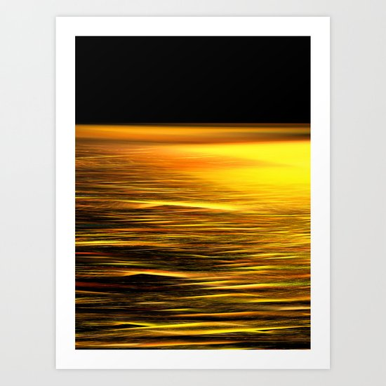 The Colors of the Sea 3 Art Print