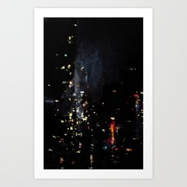 Chinatown Bus Art Print