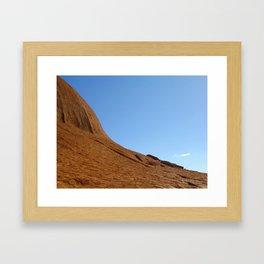Ayers' Sky Framed Art Print