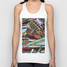 Urban sphere 01 Unisex Tank Top