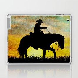 Lonesome Cowboy Laptop & iPad Skin