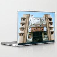 cinema Laptop & iPad Skins featuring CINEMA PANTHEON by Chris Meiklejohn