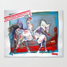 Ride till U Die Canvas Print