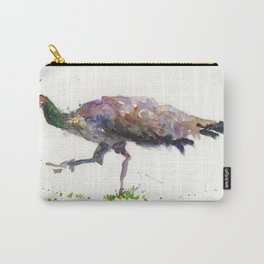 Peahen Carry-All Pouch