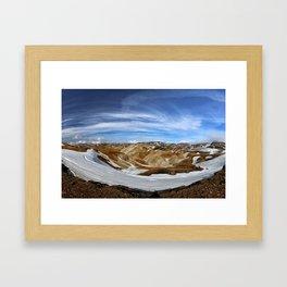 Landmannalaugar, Iceland Framed Art Print