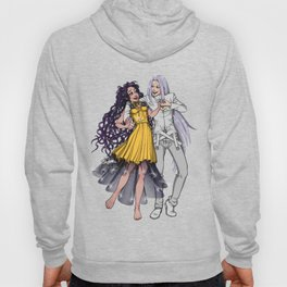 Sailor Moon - Human Luna and Artemis  Hoody