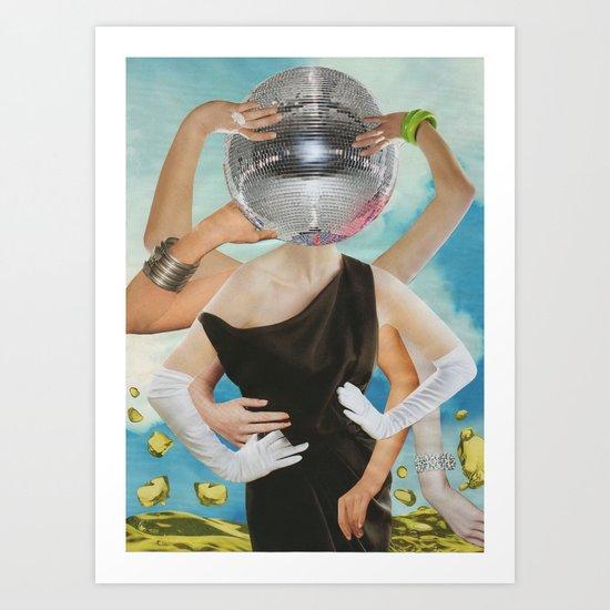 Collage 14 Art Print