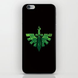 Angels on the horizon iPhone Skin