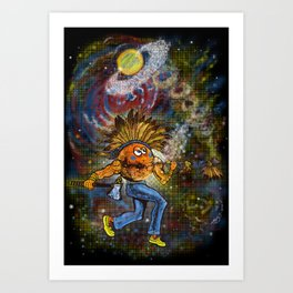 redskin planet Art Print