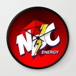D20 NPC Energy Wall Clock