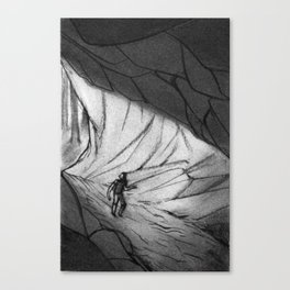 The Cave Canvas Print