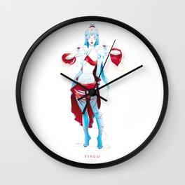 VIRGO, 6th zodiacal sign. Wall Clock