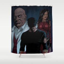 Matt, Fisk & Elektra Shower Curtain