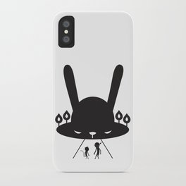 BLACK POND iPhone Case