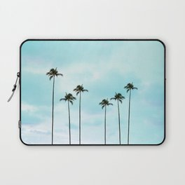 Palm Tree Photography | Turquoise Sky Laptop Sleeve