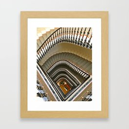 Stairs of the Palace, Lisbon, Portugal Framed Art Print