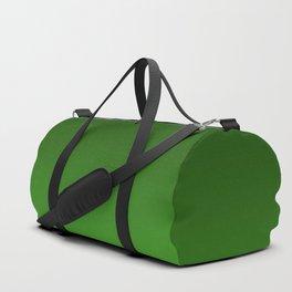 Green Ombré Gradient Duffle Bag