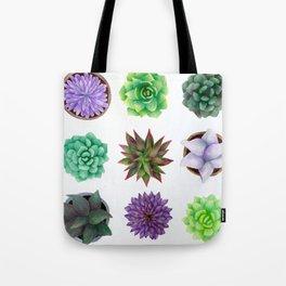 Succulent Friends Tote Bag