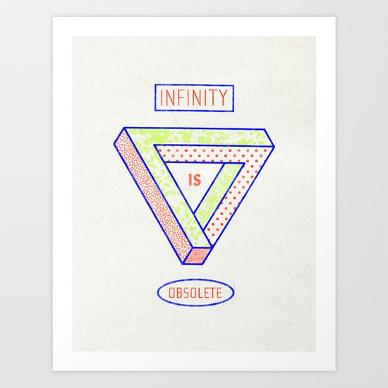 NONFINITY Art Print