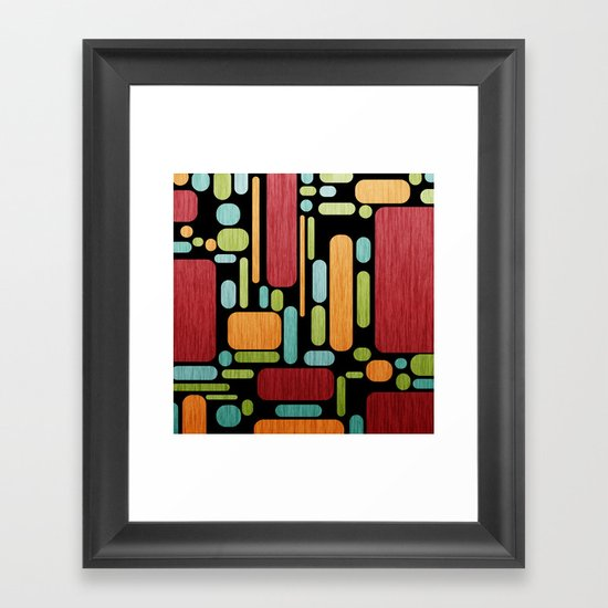 Retro Switch. Framed Art Print