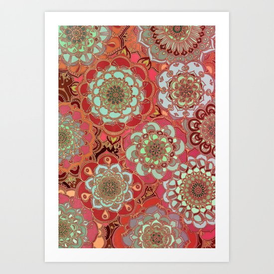 Baroque Obsession Art Print