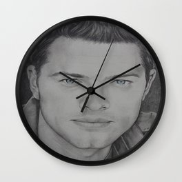 Misha Collins Wall Clock