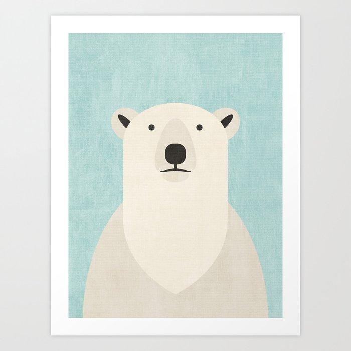 FAUNA / Polar Bear Art Print