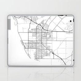 Minimal City Maps - Map Of Oxnard, California, United States Laptop & iPad Skin