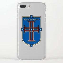 Portugal Seleção das Quinas (Team of Shields) ~Group B~ Clear iPhone Case