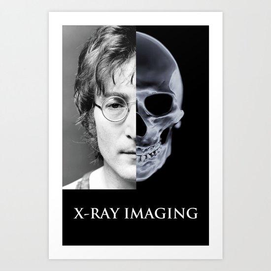 Imaging 2 Art Print