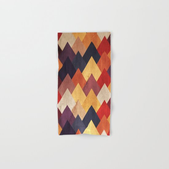 Eccentric Mountains Hand & Bath Towel