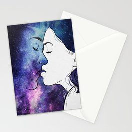 Kisses from the universe. Stationery Cards