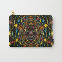 neural mandala 2 Carry-All Pouch