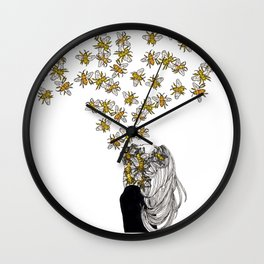 The Arrival of the Bee Box Wall Clock