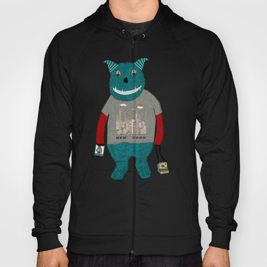 new york monster Hoody