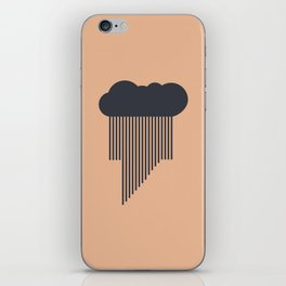 Stormy Drizzle iPhone Skin