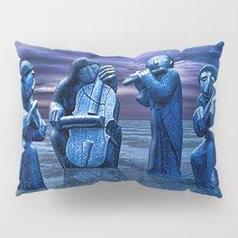 Music Frozen In Time. Pillow Sham