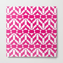 Radish Pop Art Metal Print