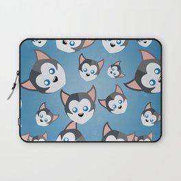 Siberian Husky Laptop Sleeve