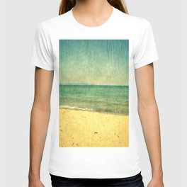 Seascape Vertical Abstract T-shirt