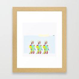 Tracy Framed Art Print