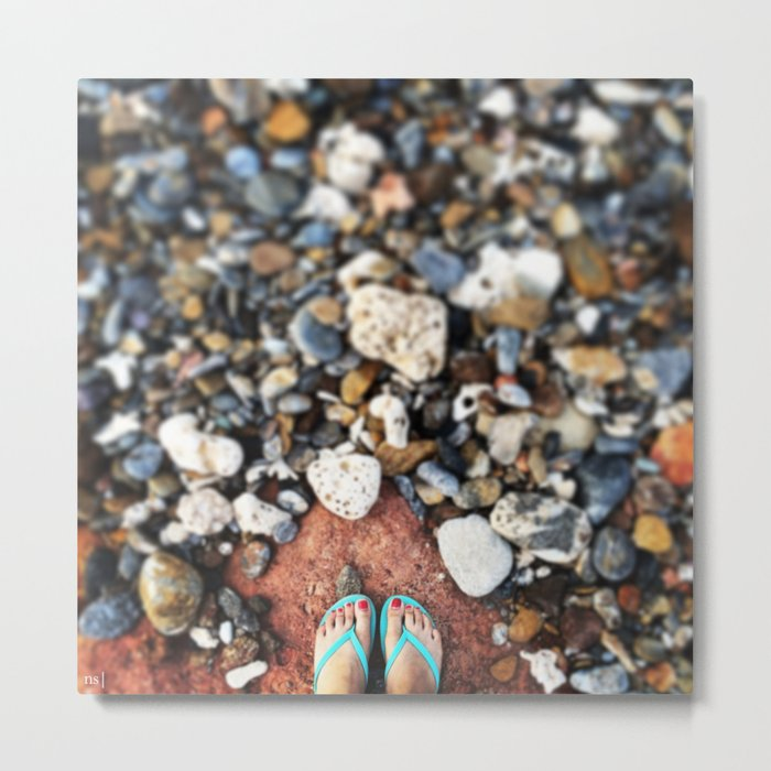 Unfocused Metal Print