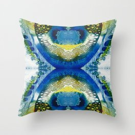 Terra hourglass Throw Pillow