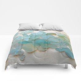 Ocean Hue Sea Glass Comforters