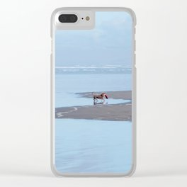 Doggy Heaven Clear iPhone Case