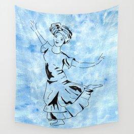 Yemaja  (Goddess dancer) Wall Tapestry