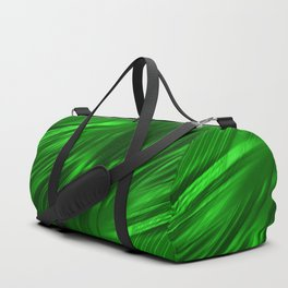 Abstract green 217 Duffle Bag