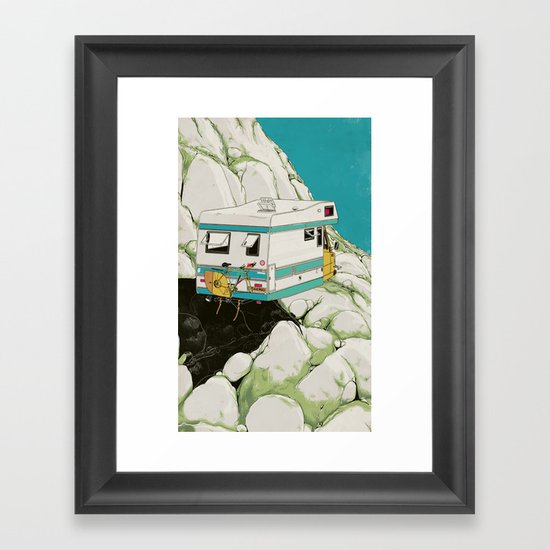 Heading South Framed Art Print