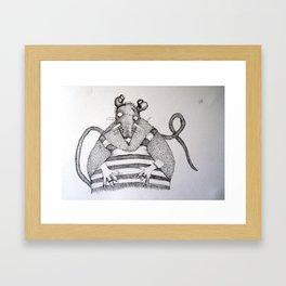 TOPO 2 Framed Art Print
